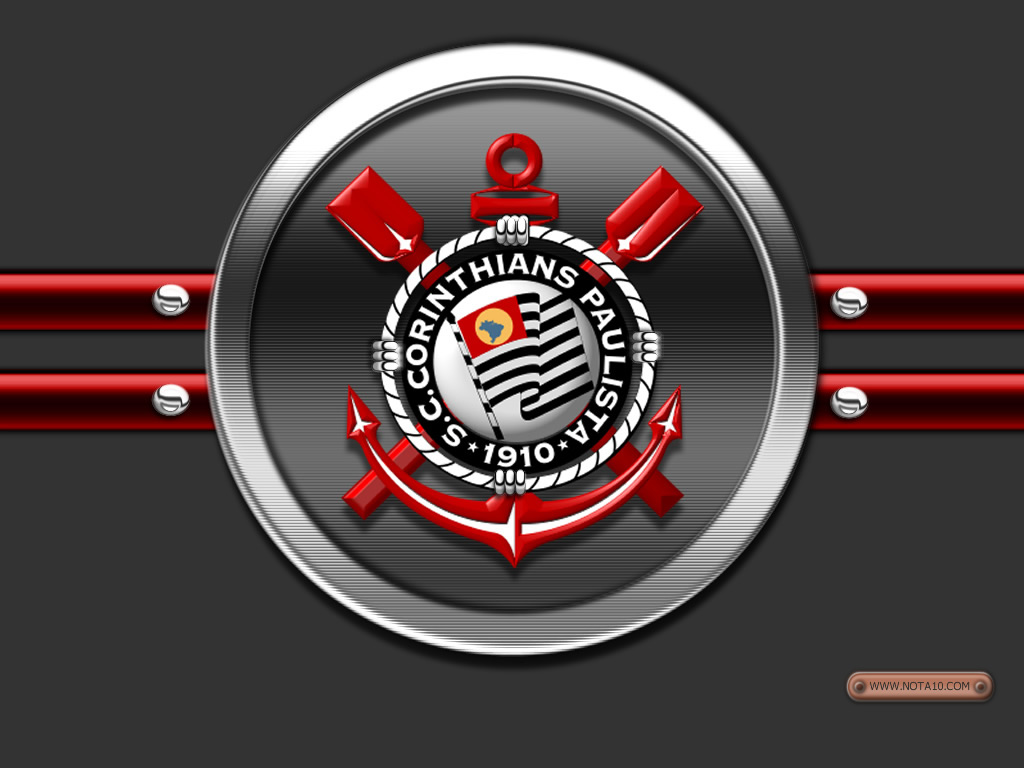 Windows x Linux – Foto do Escudo do Corinthians